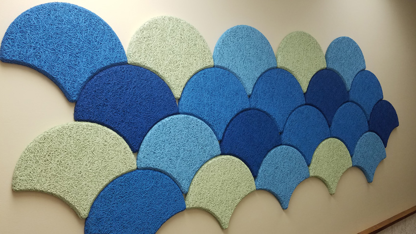 Photo of ornamental CWF panels.