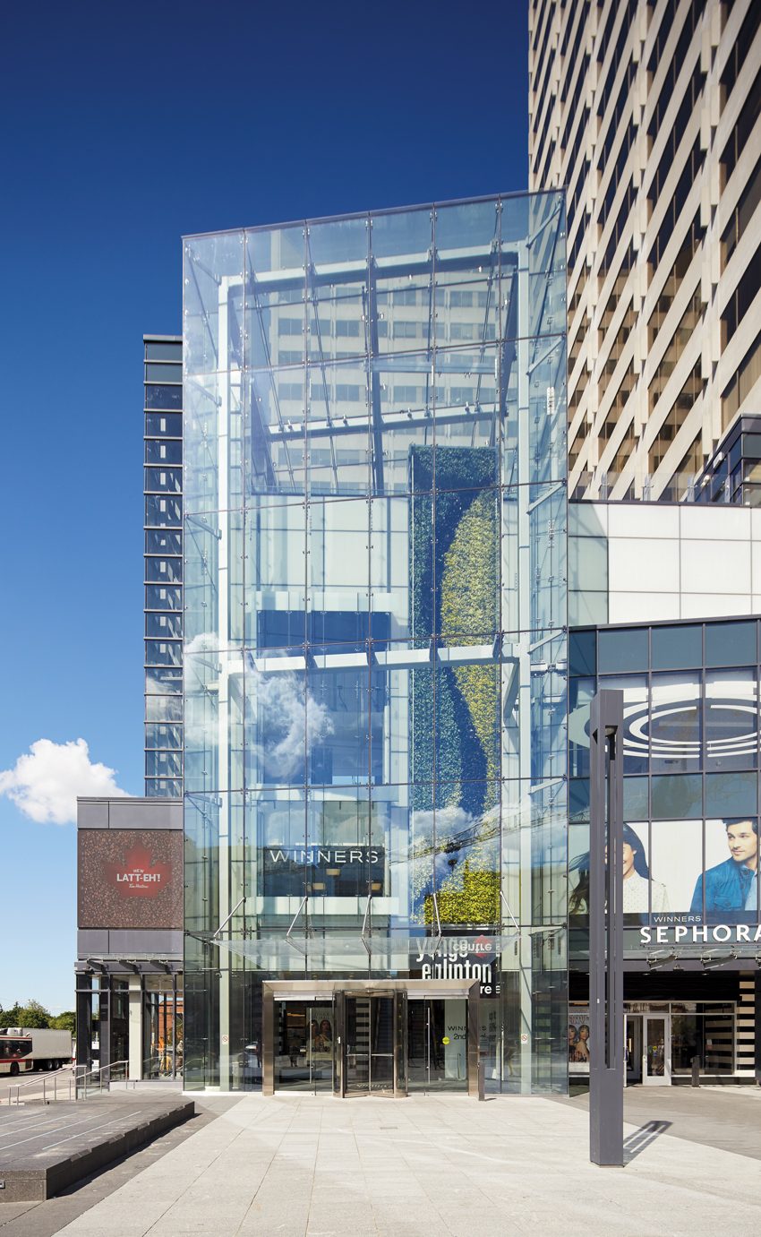Photo of RioCan Yonge Eglinton Centre Complex in Toronto.
