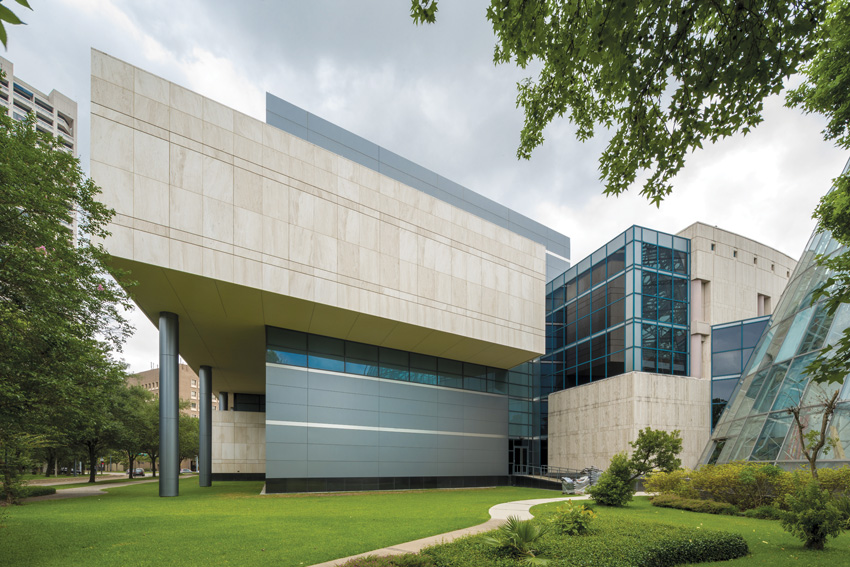 Photo of the exterior of the Houston Museum of Natural Science.