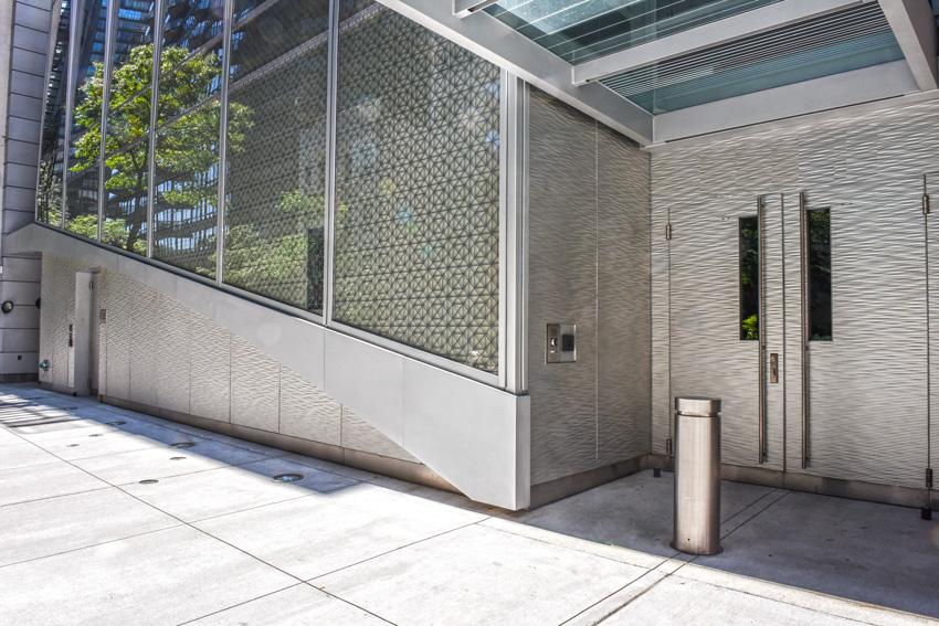 Photo of an exterior entrance.