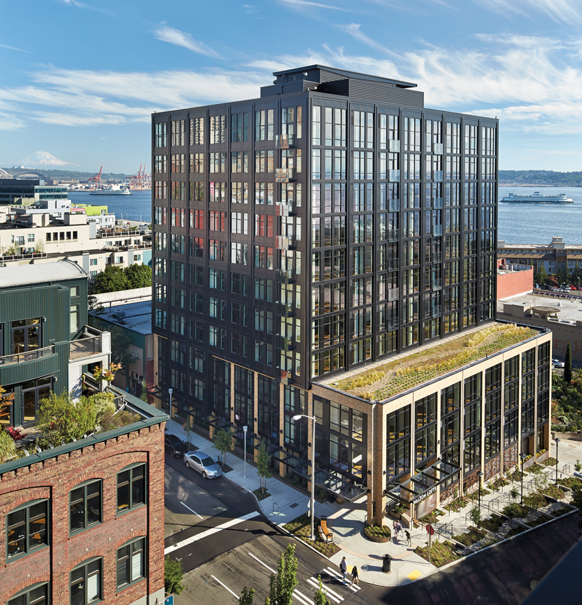 Photo of Walton Lofts in Seattle.