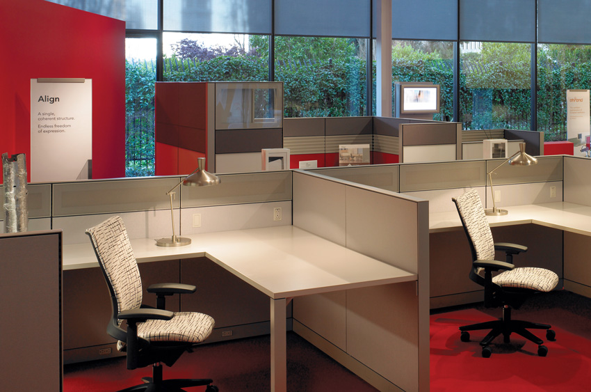 Photo of an office interior.