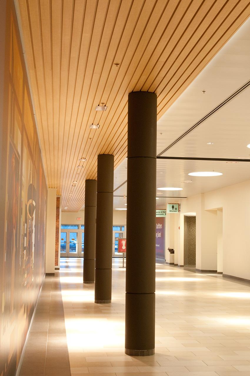 Interior photo of Christiana Mall.