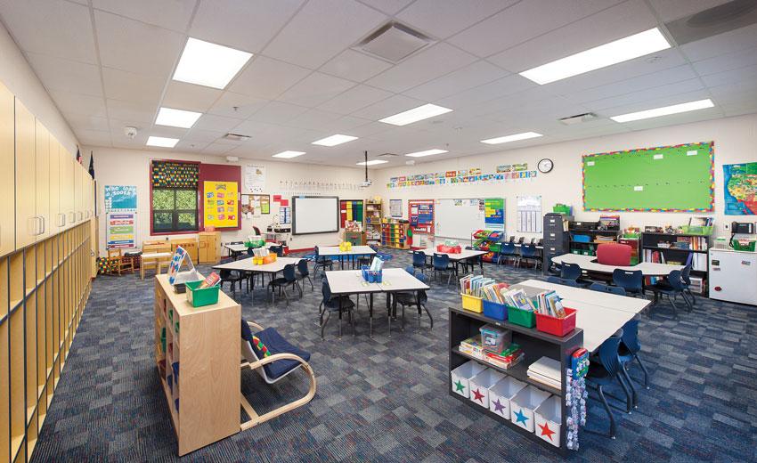 Garfield Elementary School in Augusta, Kansas.