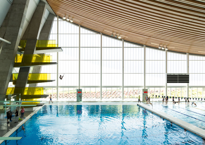 Grandview Heights Aquatic Centre.