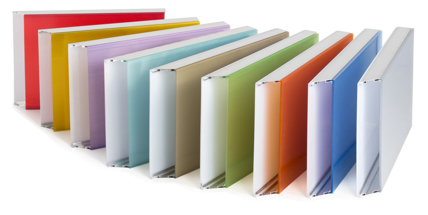 thin-celled polycarbonate glazing systems.