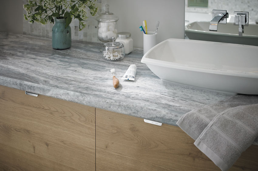 sink with laminate surface