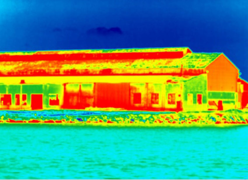 Heatmap of a home