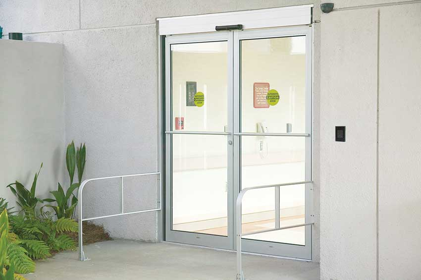 access controlled doors for health-care facilities.