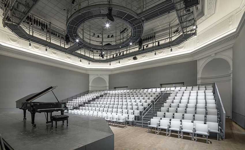 The piano concert hall