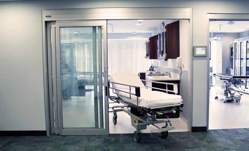 Hospital bed in hospita