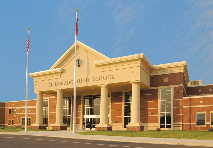 Photo of El Dorado High School.