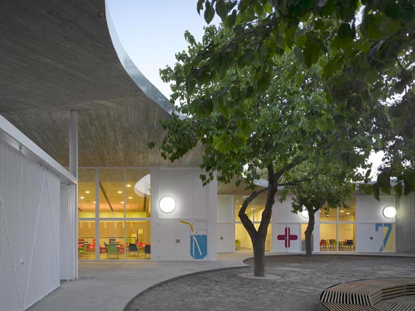Photo of the Gandia Kid University in Gandia, Valencia.