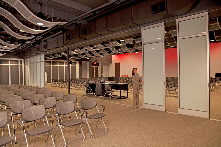 Interior photo of Snap-on Inc.'s Innovation Works facility.