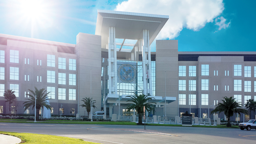 Photo of the VA Medical Center in Orlando Florida.