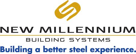 New Millenium Building Systems logo.