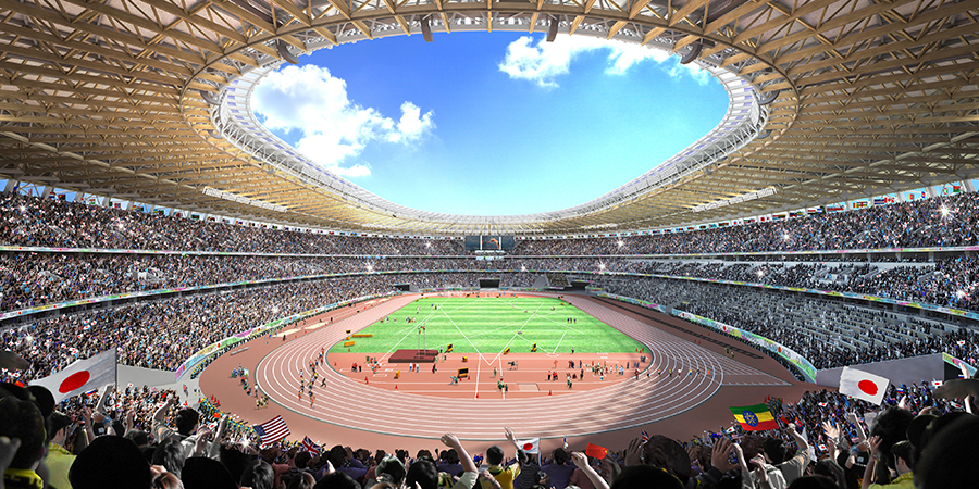 Image of a stadium.