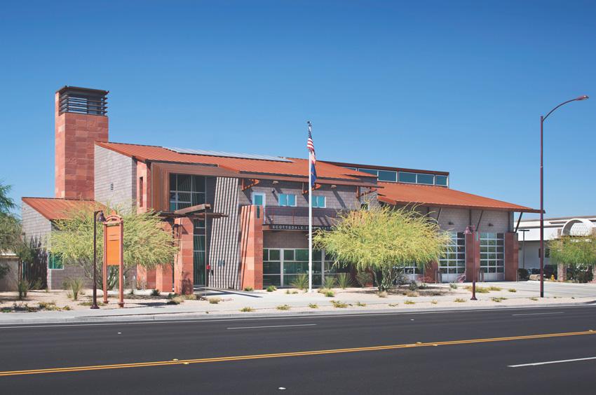 Masonry building in Arizona