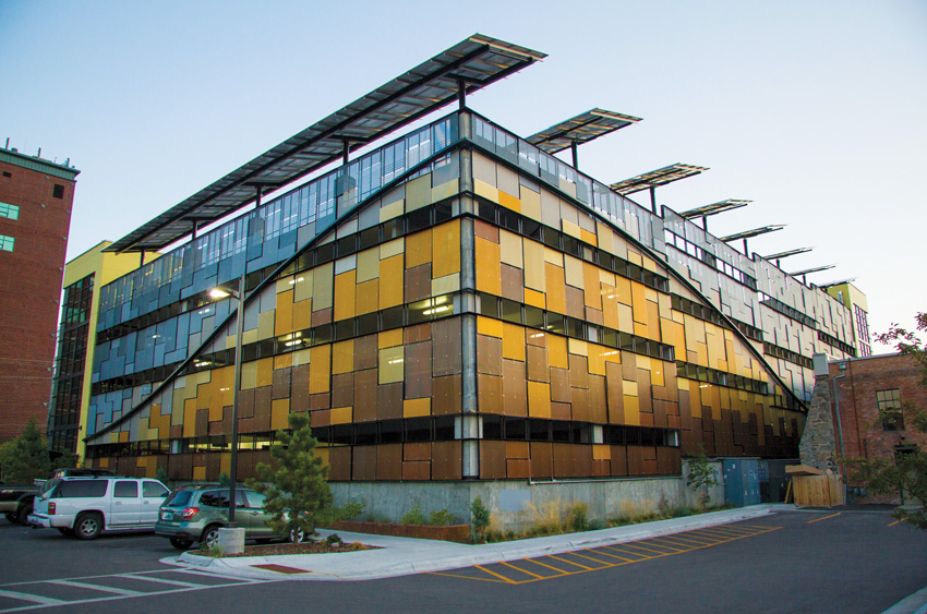 Photo of green and sustainable buildings