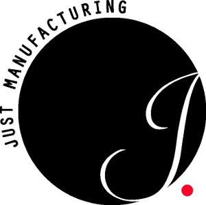 Just Manufacturing logo.