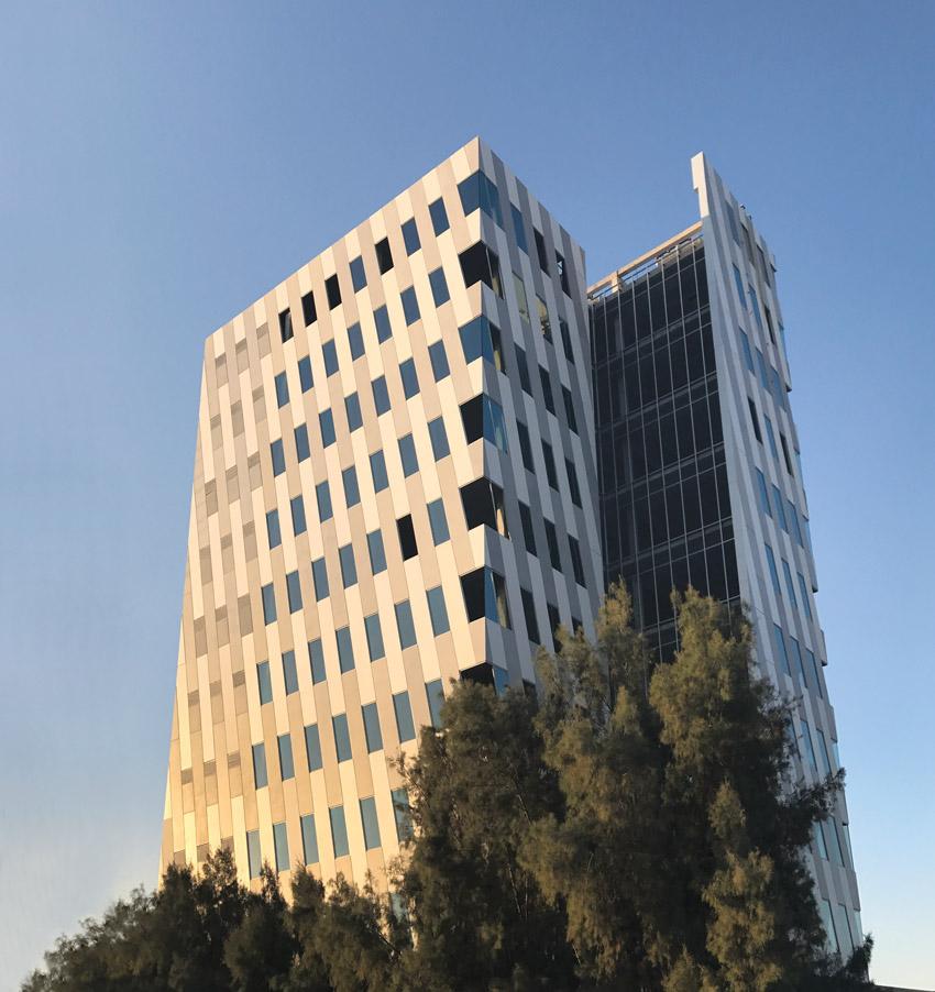 The Insignia de Saltillo designed by Cuatro 44 Architecture in Coahilla, Mexico