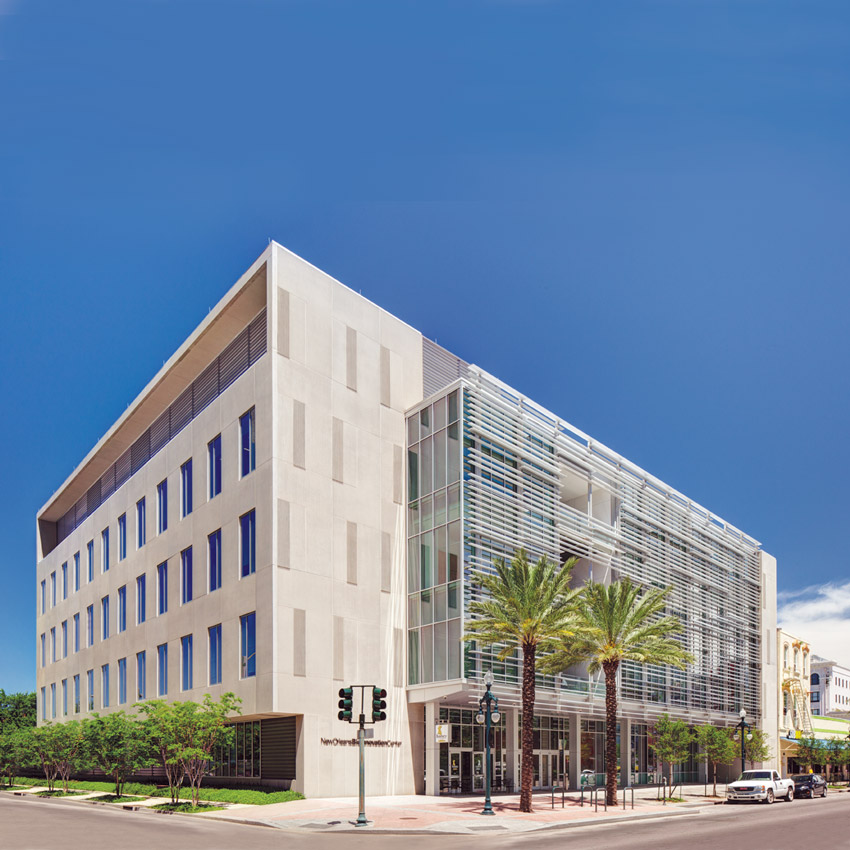 New Orleans LEED Gold BioInnovation Cente