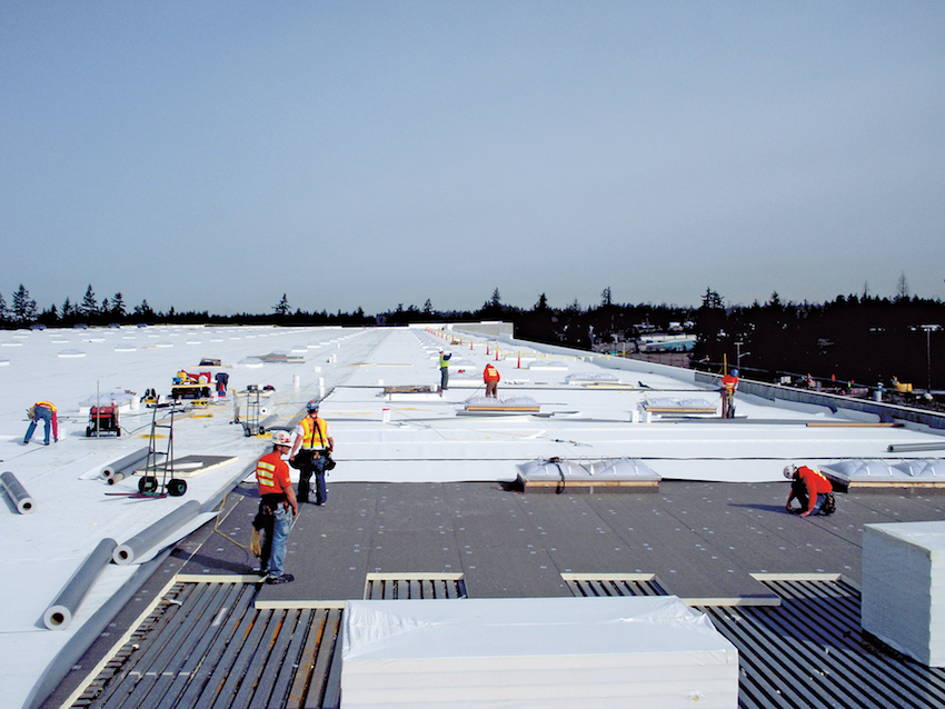 The Building Code and Low Slope Roofing Systems