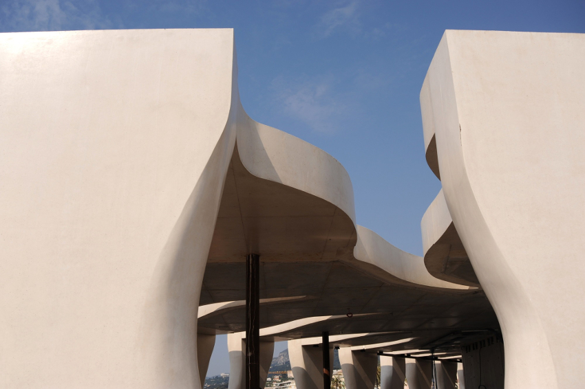 Designing with Concrete in the 21st Century course image.
