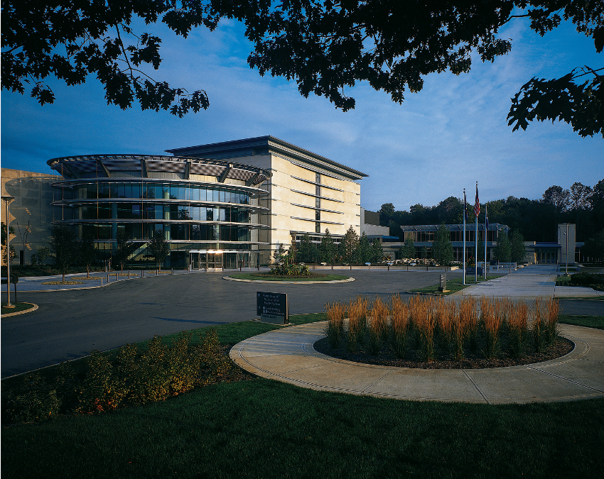 Picture of The Indianapolis Museum of Art.