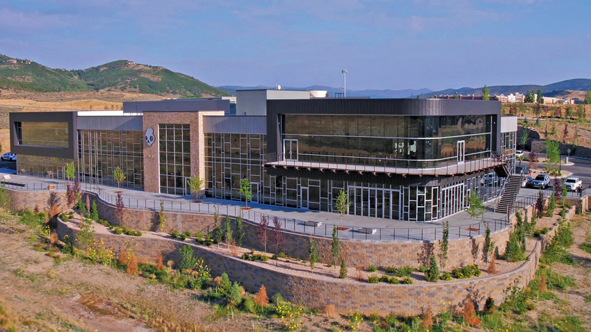 Skullcandy's headquarter, Park City, Utah.