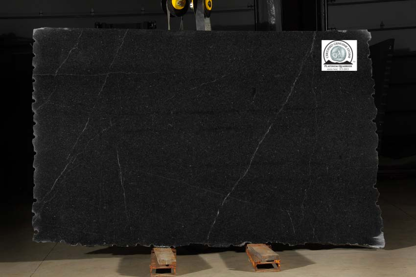 Natural stone with ANSI/NSC 373 certified label