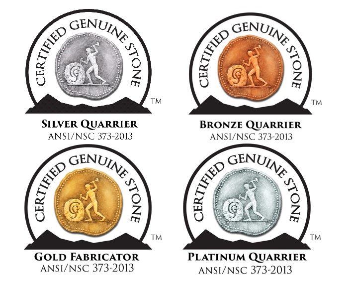 Silver quarrier, Bronze quarrier, Gold Fabricator, Platinum Quarrier