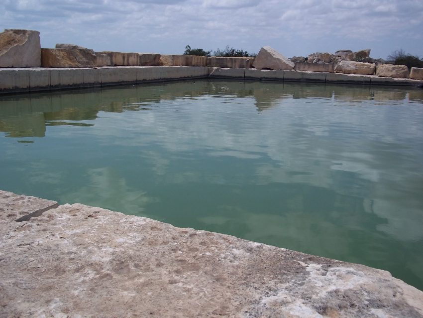 Holding ponds for water reclamation