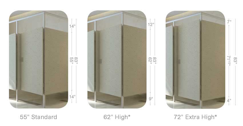 Photo of Photo of Toilet partitions in schools