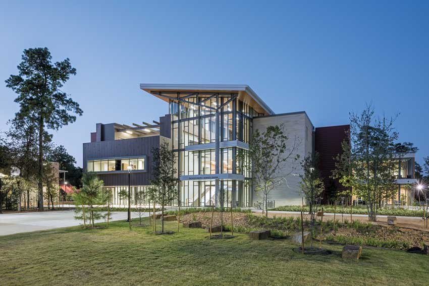 John Cooper STEM School in Houston designed by Ziegler Cooper Architects