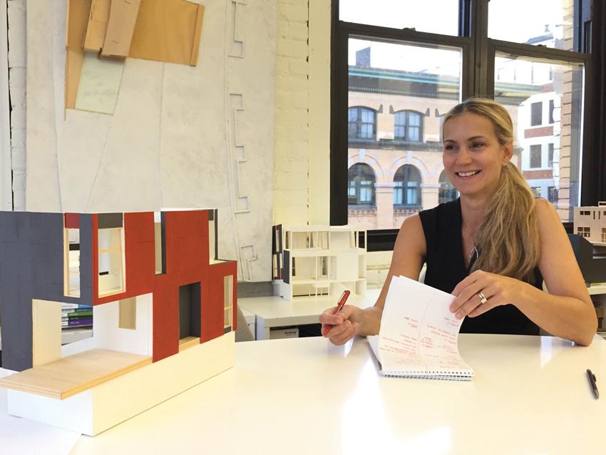 Elizabeth Whittaker of Merge Architects in Boston