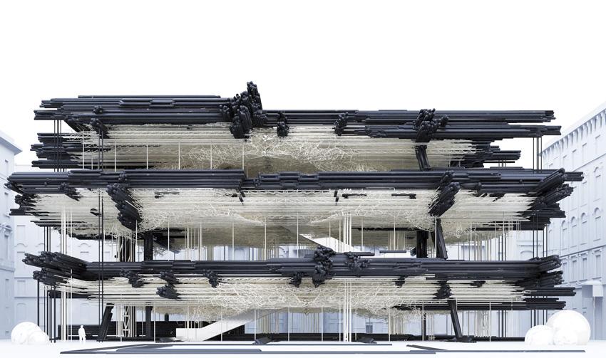 Hextrata, designed by Gilles Retsin Architecture