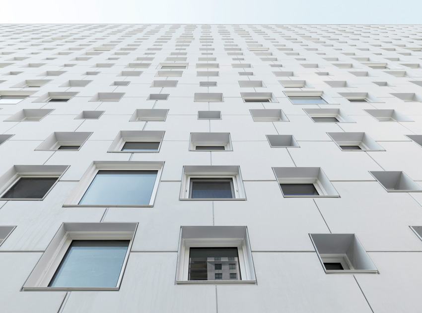 extruded concrete panels can be part of an effective rainscreen system