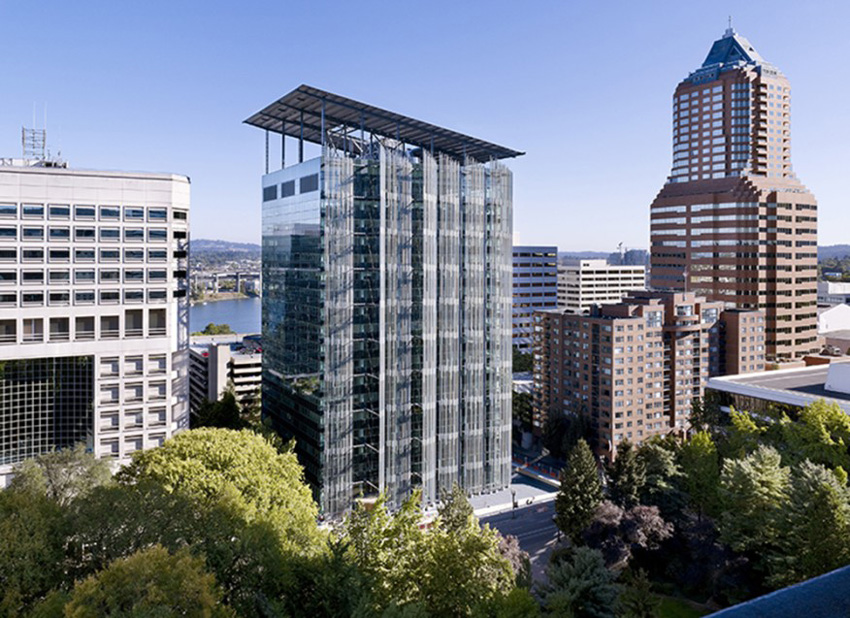 Case Study: located at Edith Green-Wendell Wyatt Federal Building in Portland, Oregon, by architect SERA