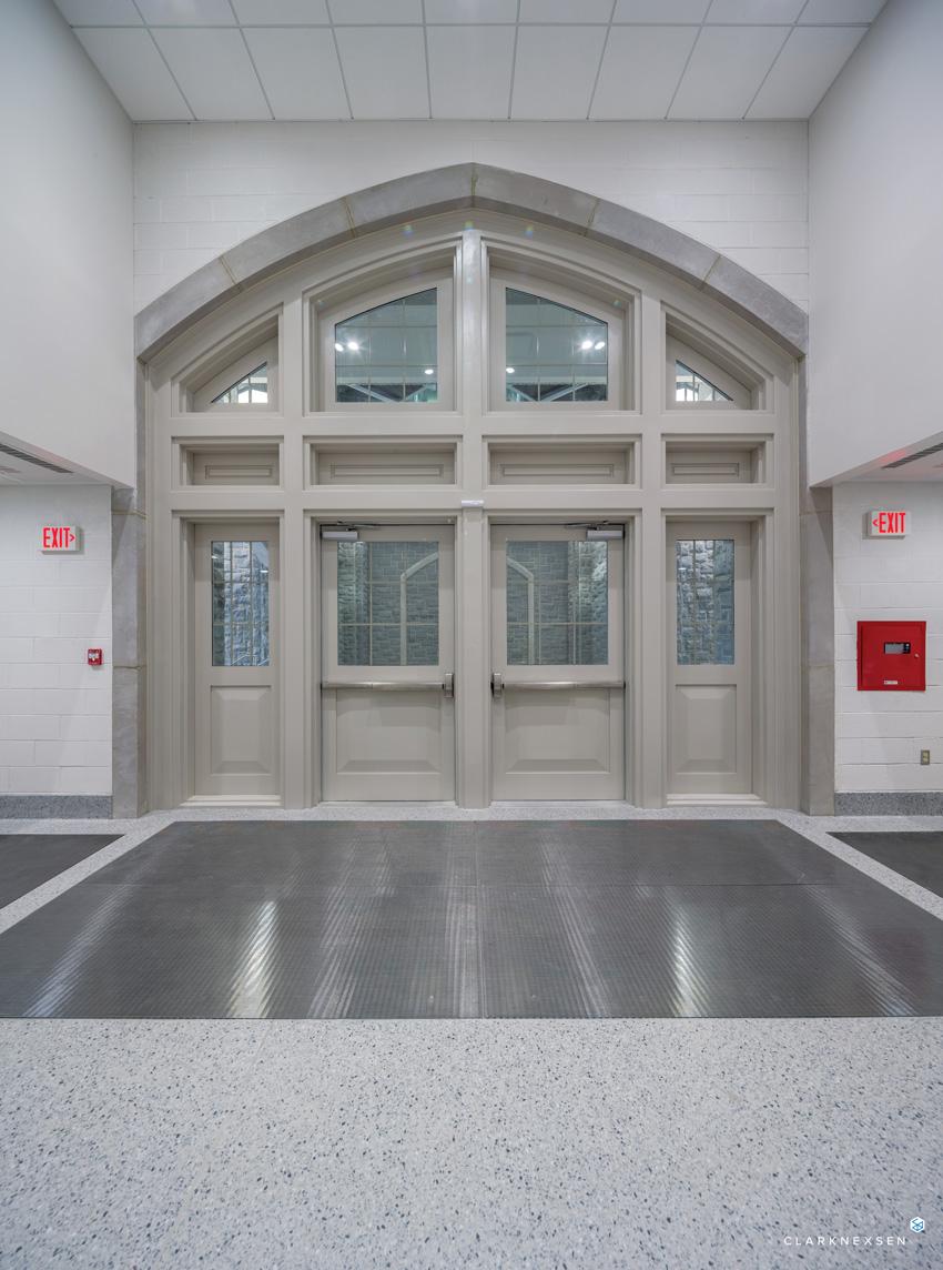 United States West Point Military Academy doors with custom-engineered blast-resistant doors