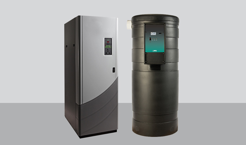 modular water heaters for hospitals