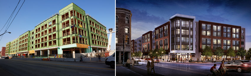 The Quarter, multifamily housing in Cleveland