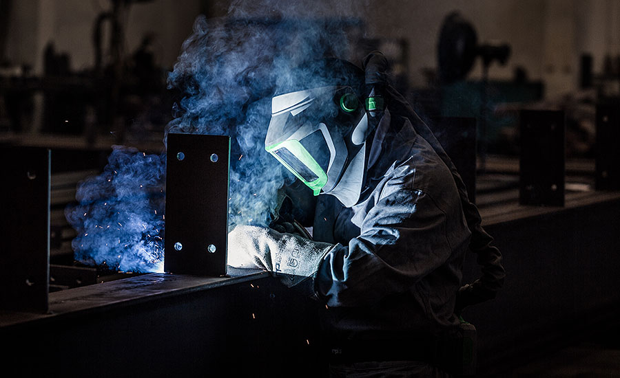 Innovative respiratory protection protects welders like never before