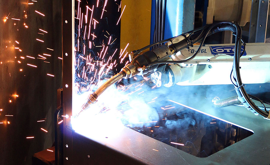 Managing air quality in weld cells