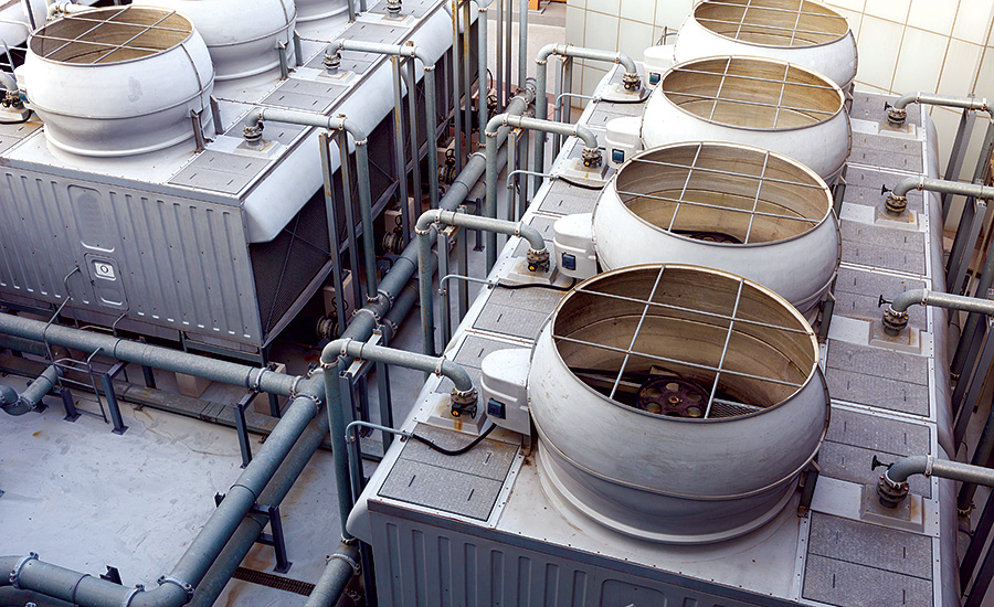 Crossflow Microsand Filtration for Cooling Tower Water Treatment