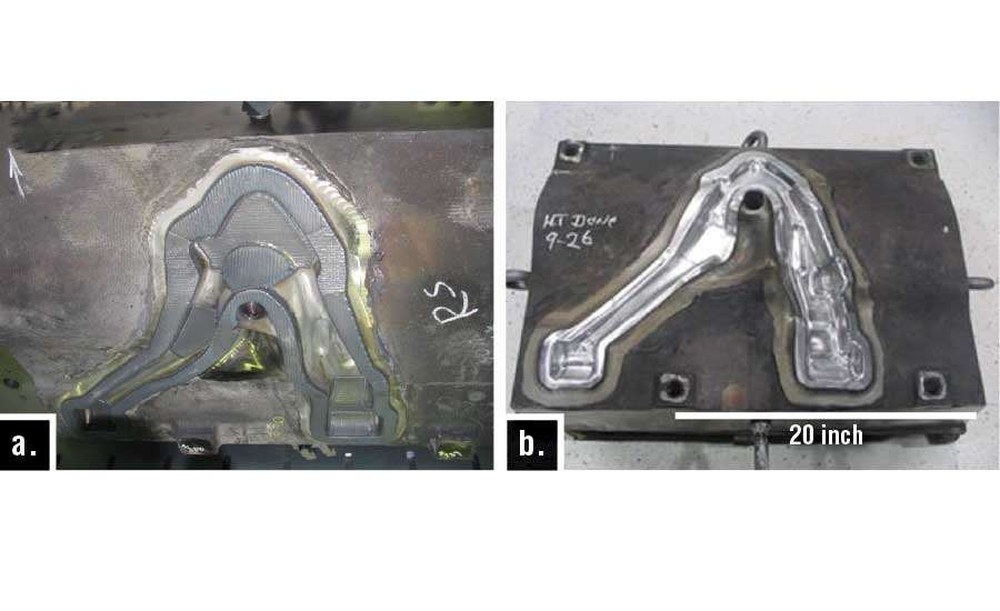 The Use of Direct Metal Deposition (DMD) Additive Manufacturing on Forging Dies