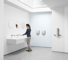 Touch-free, Hygienic and Sustainable Hand-Drying Solutions for Commercial Restrooms