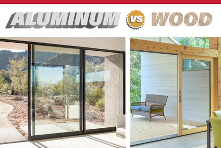 Aluminum Wood