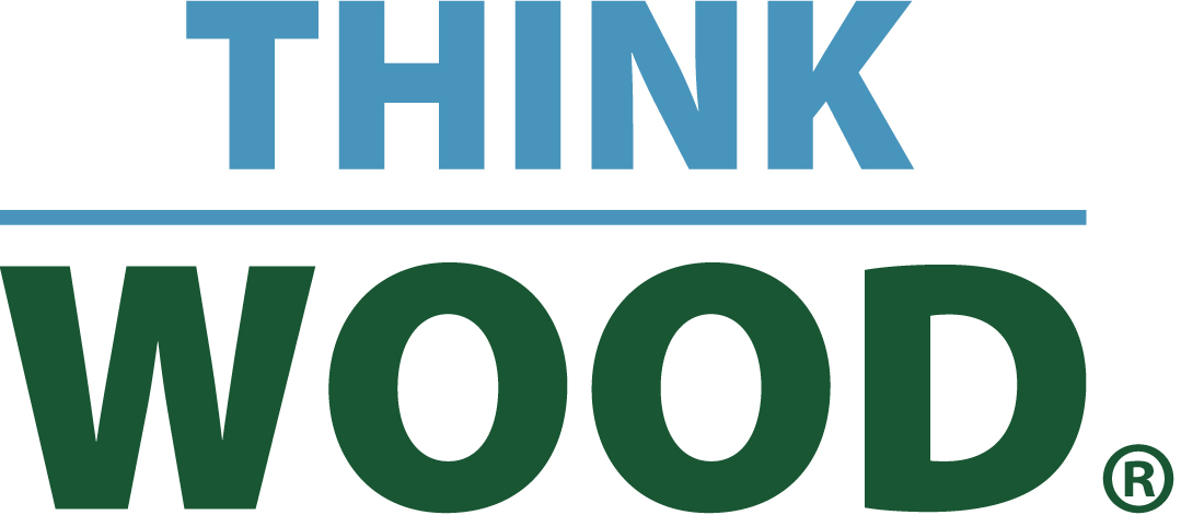 Think Wood logo.