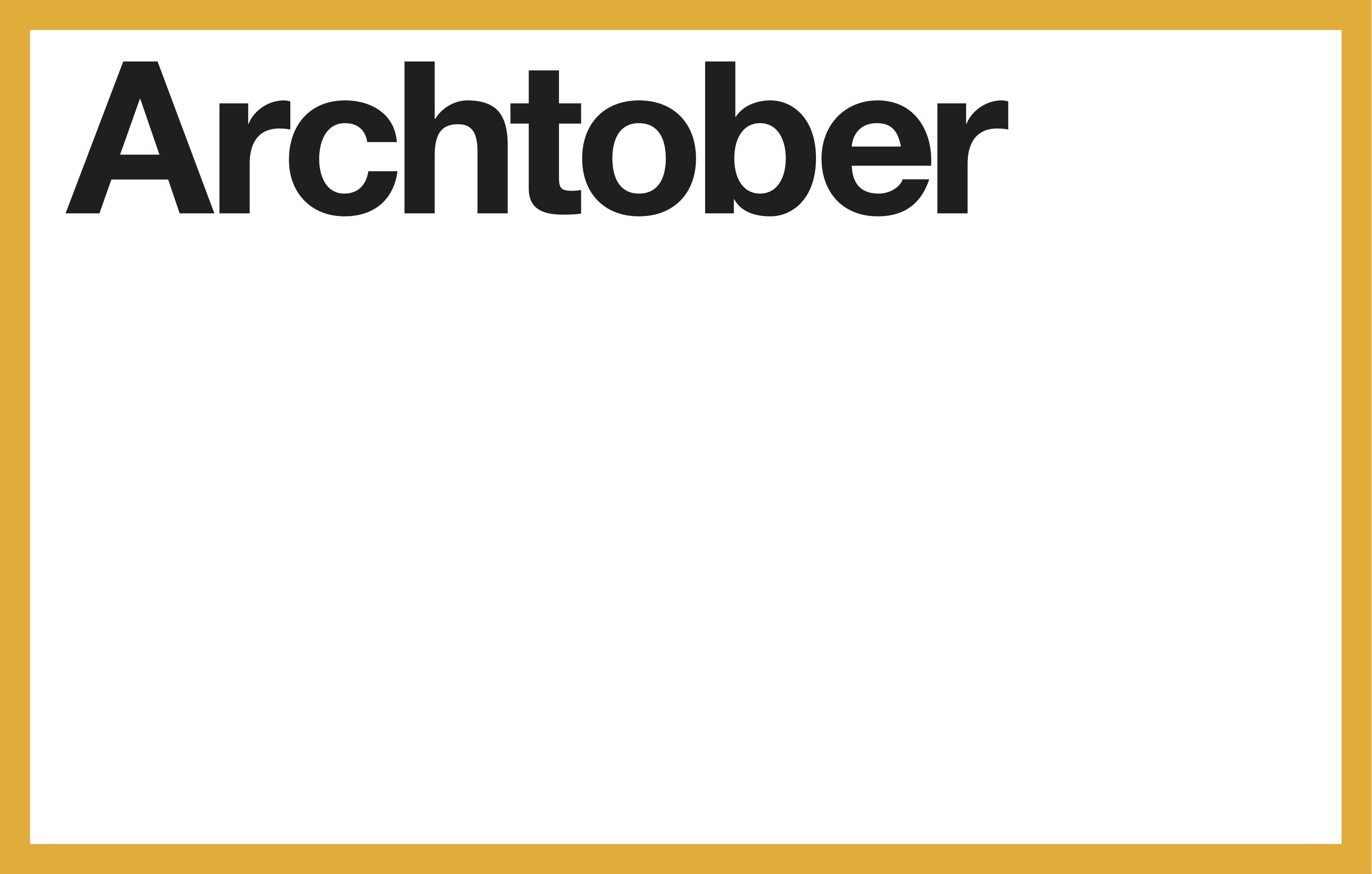 Archtober